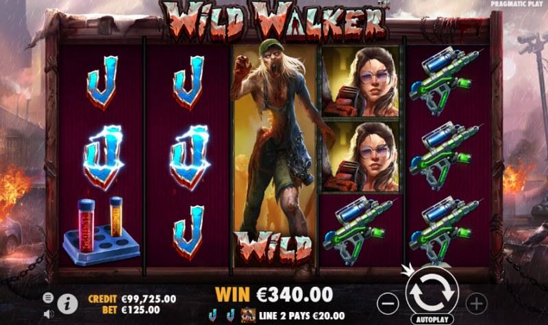 Wild Walker :: Multiple winning paylines