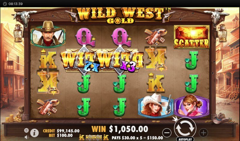 Wild West Gold :: Four of a kind