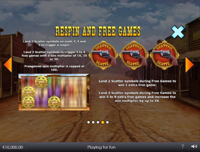 Wild West Wilds :: Respin and Free Games