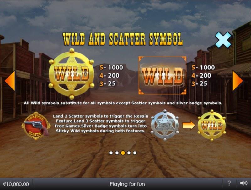 Wild West Wilds :: Wild Symbol Rules