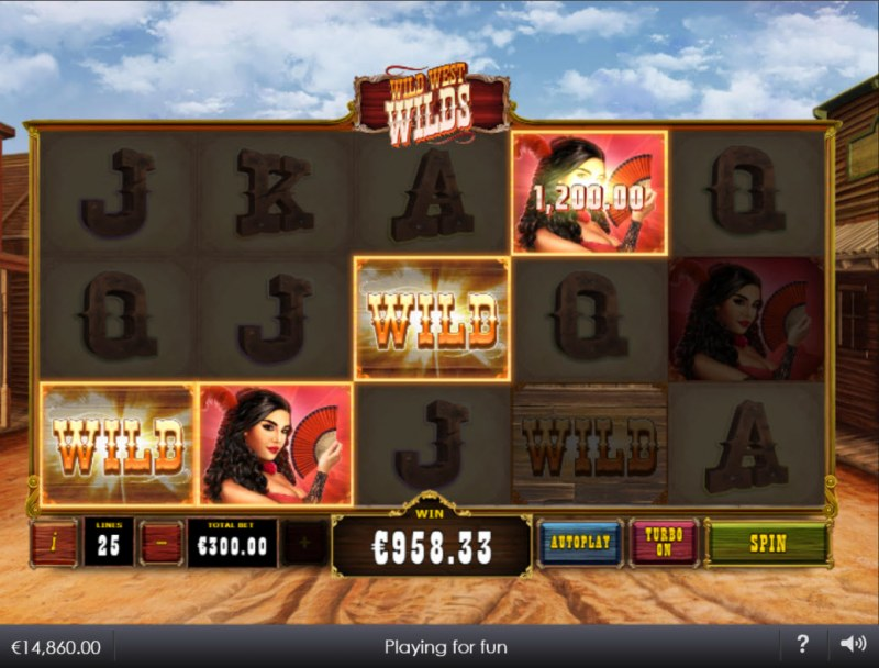 Wild West Wilds :: A four of a kind win