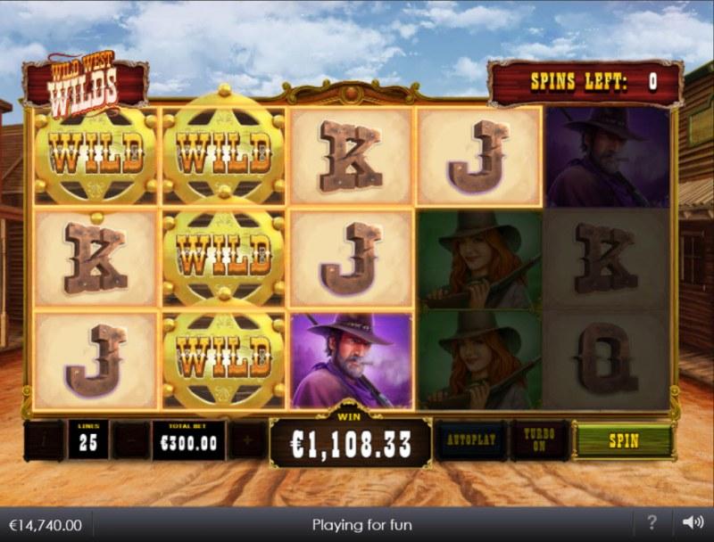 Wild West Wilds :: Multiple winning paylines