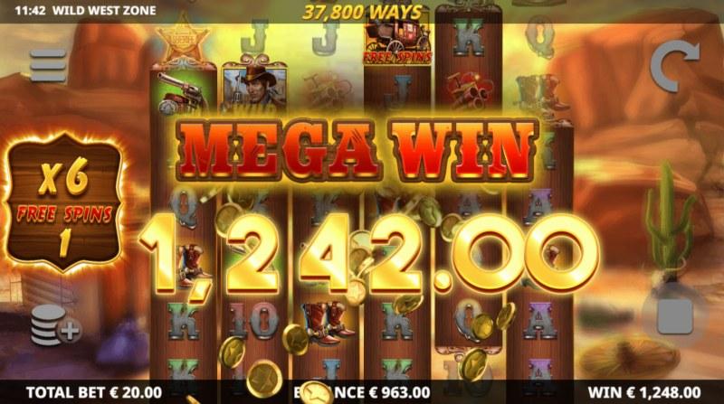 Wild West Zone :: Mega Win