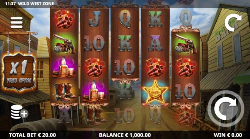 Wild West Zone :: Main Game Board