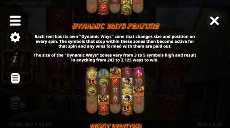 Wild West Zone :: Dynamic Ways Feature
