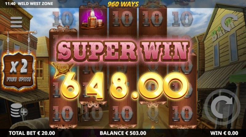 Wild West Zone :: Super Win