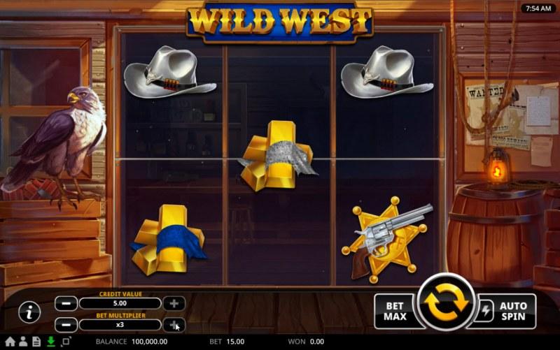Wild West :: Main Game Board
