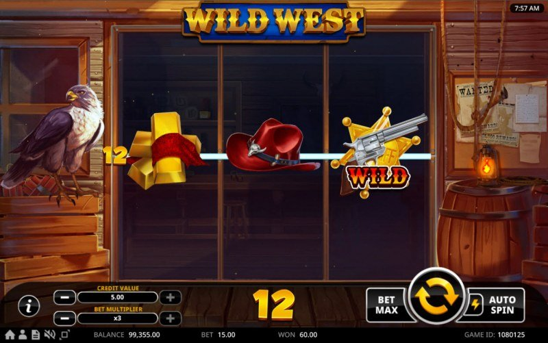 Wild West :: Doubled Win