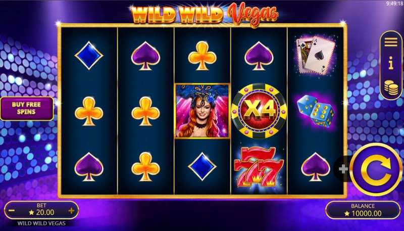 Wild Wild Vegas :: Main Game Board