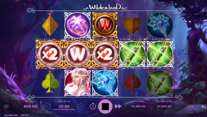 Wilderland :: Multiple winning combinations leads to a mega win