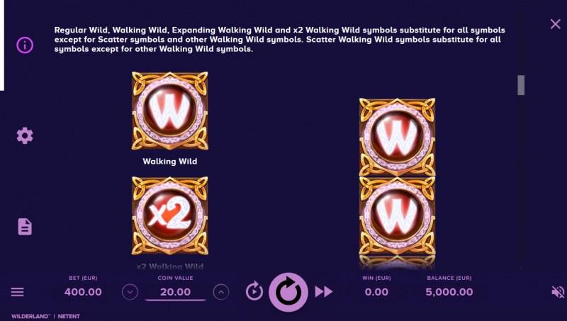 Wilderland :: Wild Symbols Rules