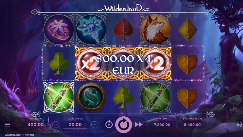 Wilderland :: Multiple winning combinations leads to a big win