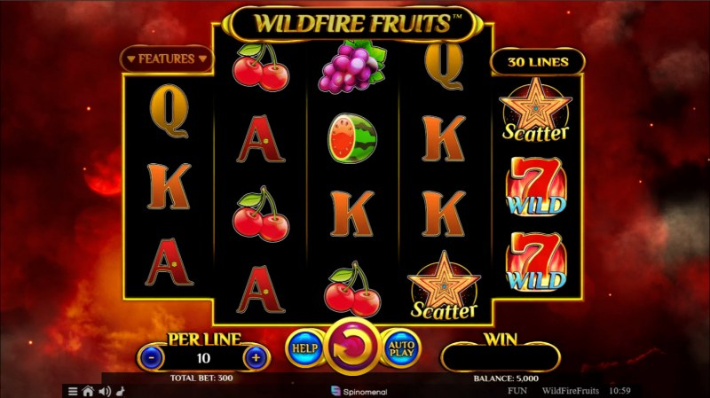 Wildfire Fruits :: Base Game Screen