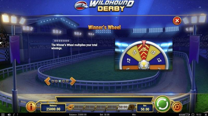 Wildhound Derby :: Bonus Game Rules