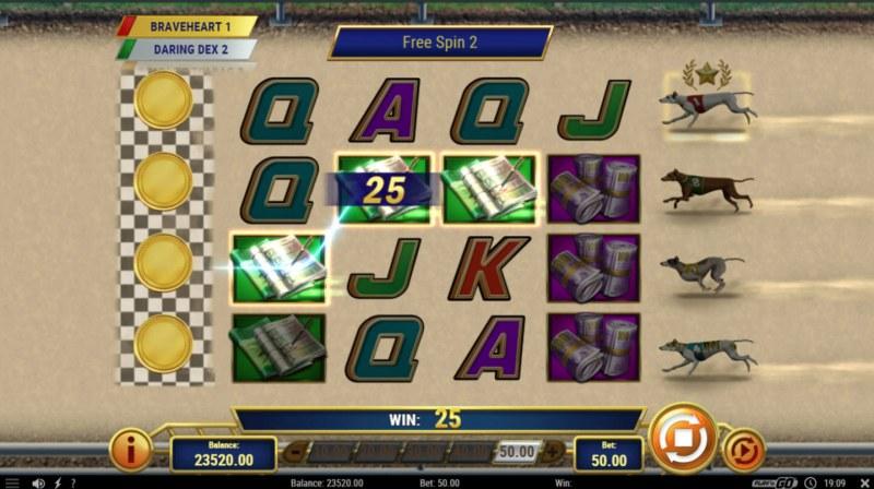 Wildhound Derby :: Free Spins Game Board