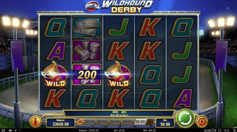 Wildhound Derby :: Multiple winning paylines