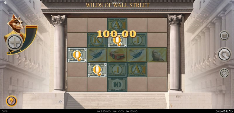 Wilds of Wall Street :: A three of a kind win