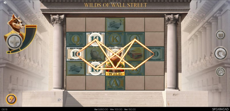 Wilds of Wall Street :: Multiple winning combinations