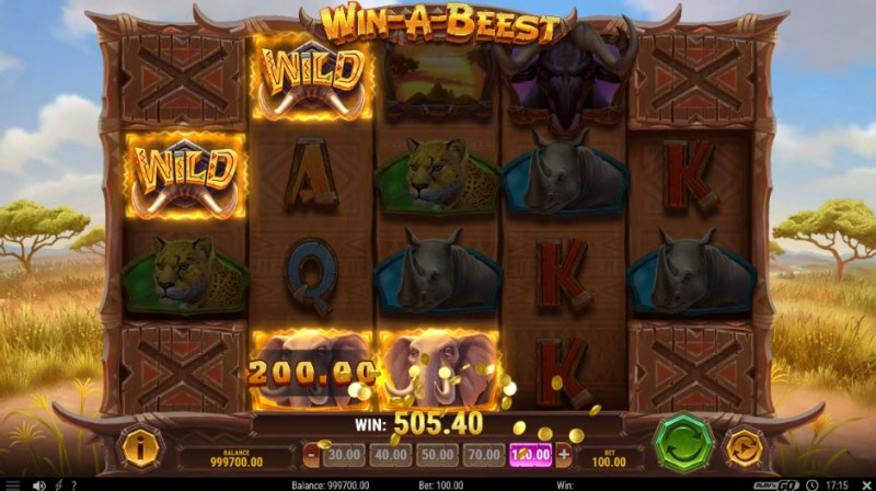 Win-A-Beest :: Three of a kind win