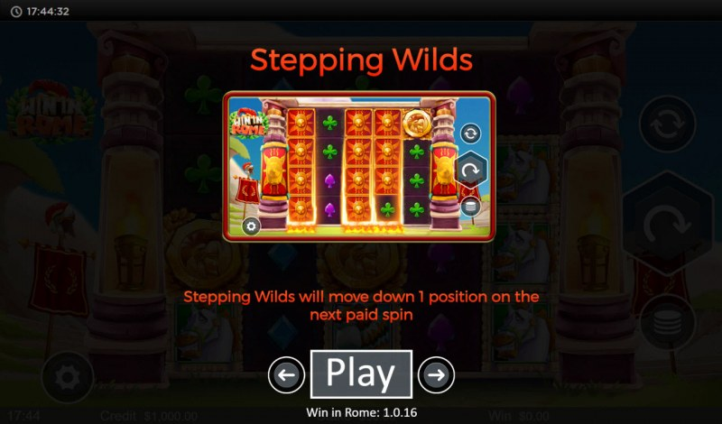 Win in Rome :: Stepping Wilds