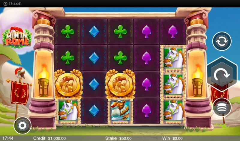 Win in Rome :: Main Game Board