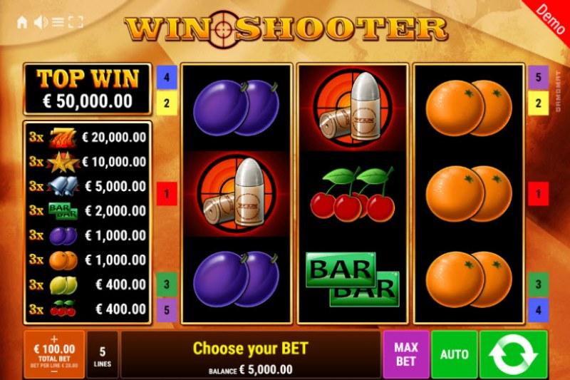 Win Shooter :: Main Game Board