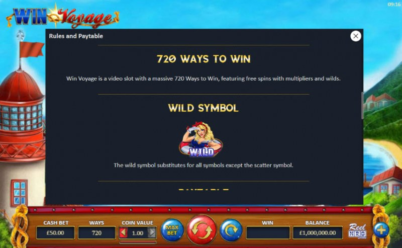 Win Voyage :: Wild Symbols Rules