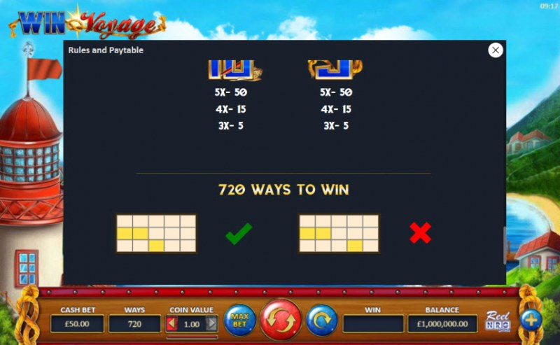 Win Voyage :: 720 Ways to Win