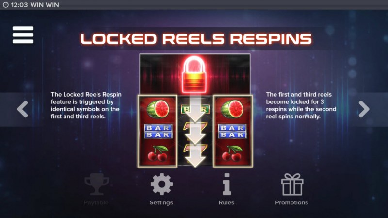 Win Win :: Locked Reels Respins