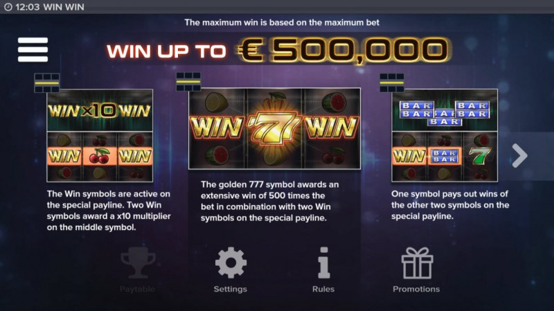 Win Win :: Win Up To $500,000