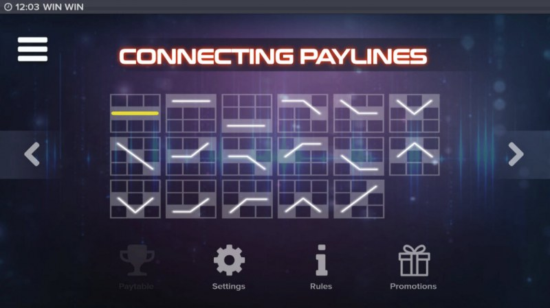 Win Win :: Paylines 1-17