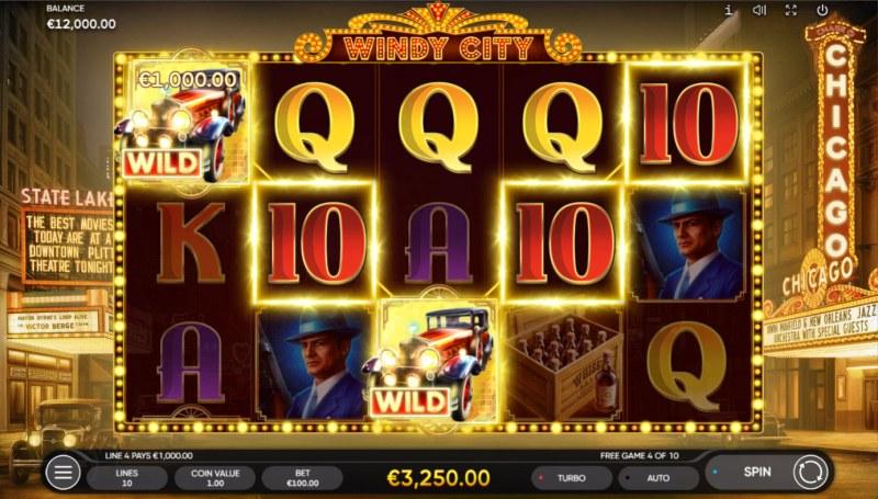 Windy City :: Multiple winning paylines