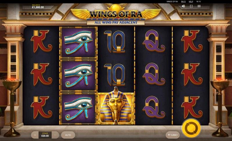Wings of Ra :: Main Game Board