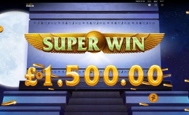 Wings of Ra :: Super Win