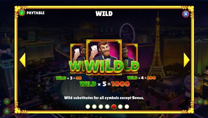 Winning Vegas :: Wild Symbol Rules
