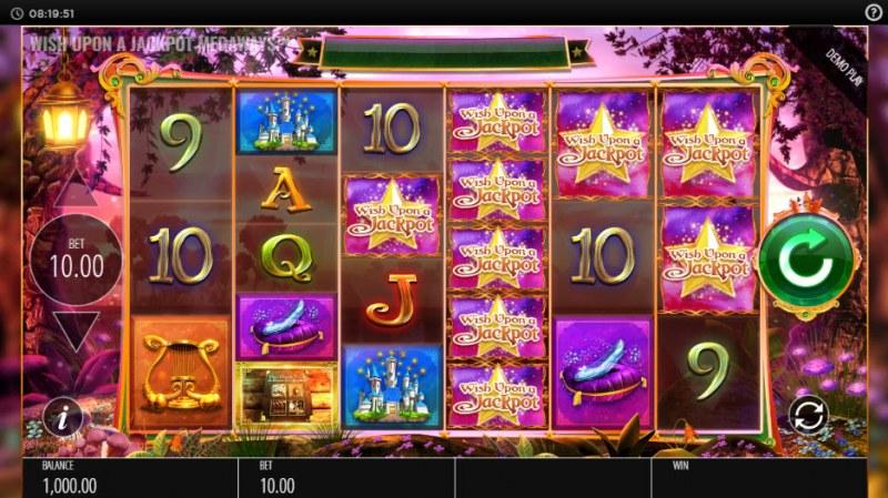 Wish Upon a Jackpot King :: Main Game Board
