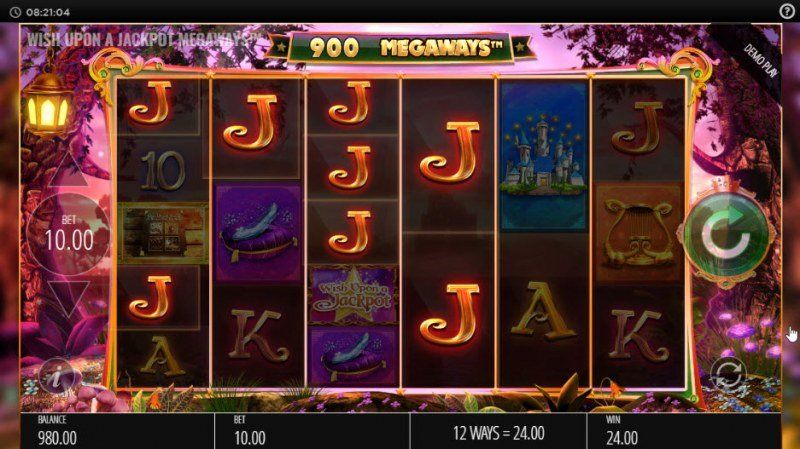 Wish Upon a Jackpot King :: Multiple winning paylines