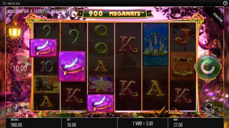 Wish Upon a Jackpot King :: Three of a kind win