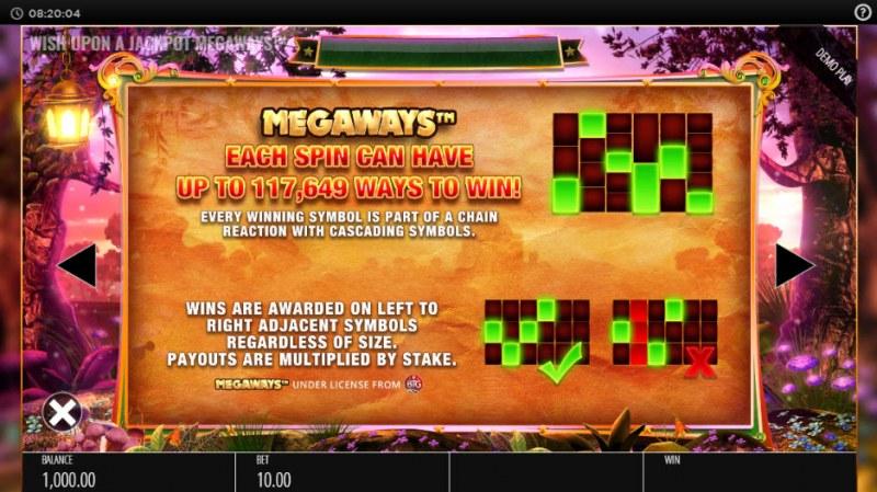 Wish Upon a Jackpot King :: Megaways
