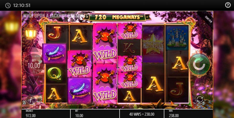 Wish Upon A Jackpot Megaways :: Multiple winning combinations leads to a big win