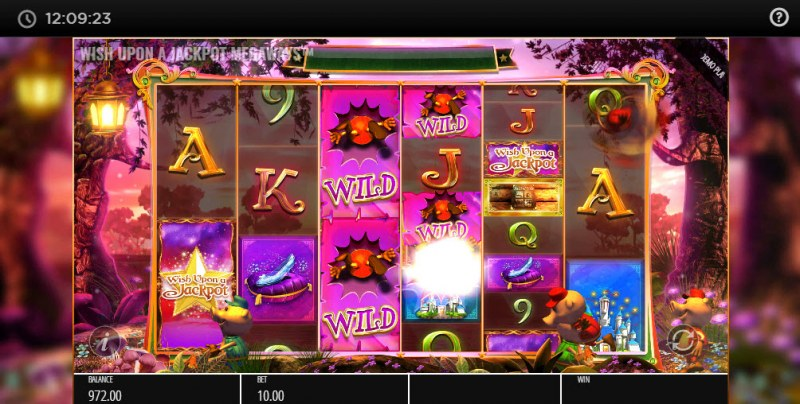 Wish Upon A Jackpot Megaways :: Random symbols are changed into wilds