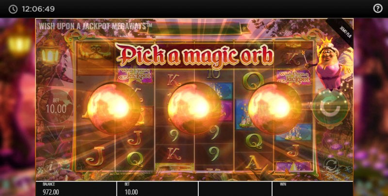 Wish Upon A Jackpot Megaways :: Fairy Godmother feature activated