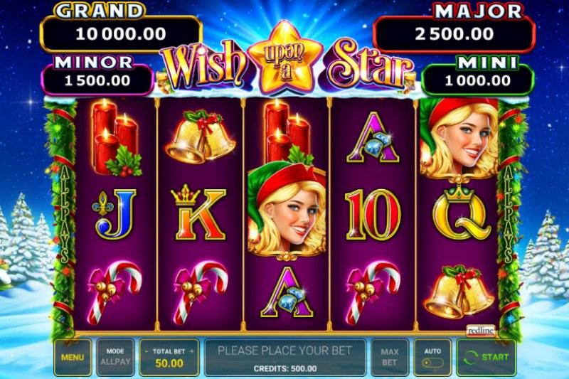 Wish Upon A Star :: Main Game Board