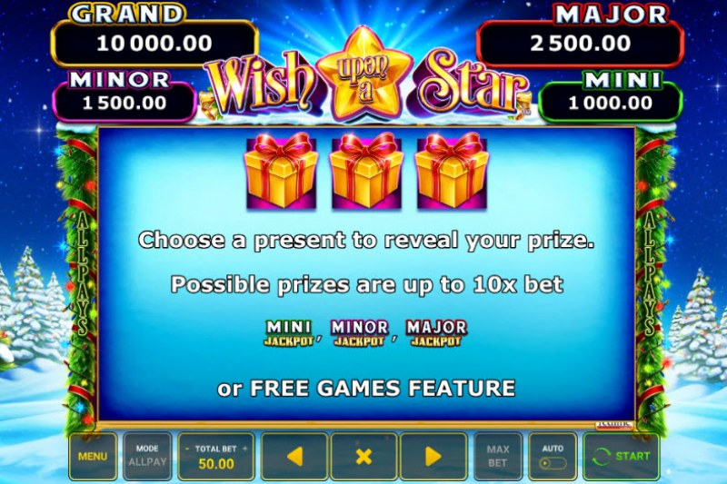 Wish Upon A Star :: Feature Rules
