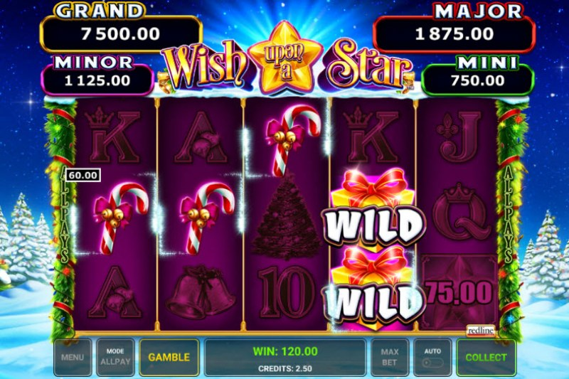 Wish Upon A Star :: Multiple winning paylines