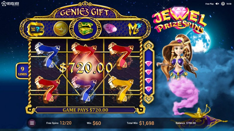 Wishes :: Multiple winning paylines