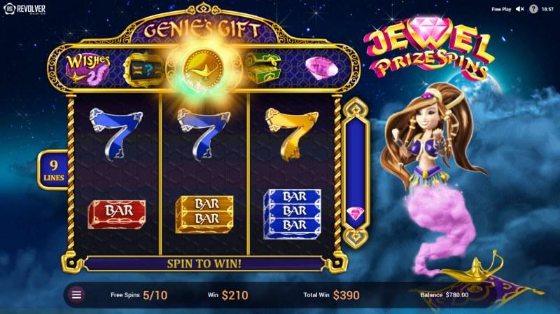 Wishes :: Collect diamond symbols to spin the bonus wheel