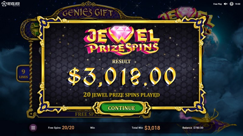 Wishes :: Total free spins payout