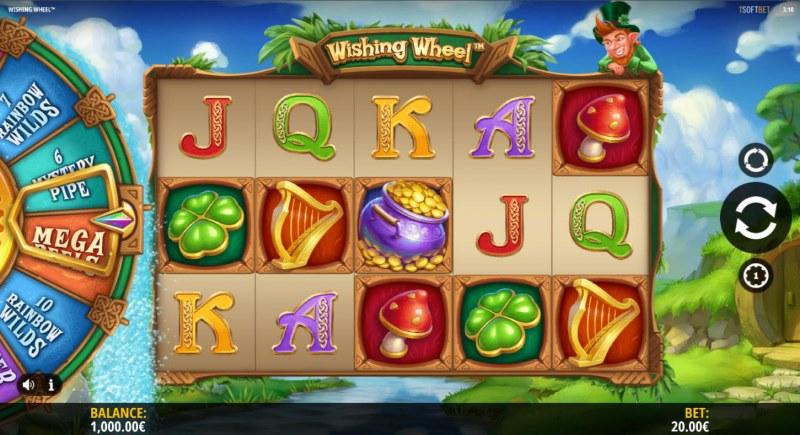 Wishing Wheel :: Main Game Board