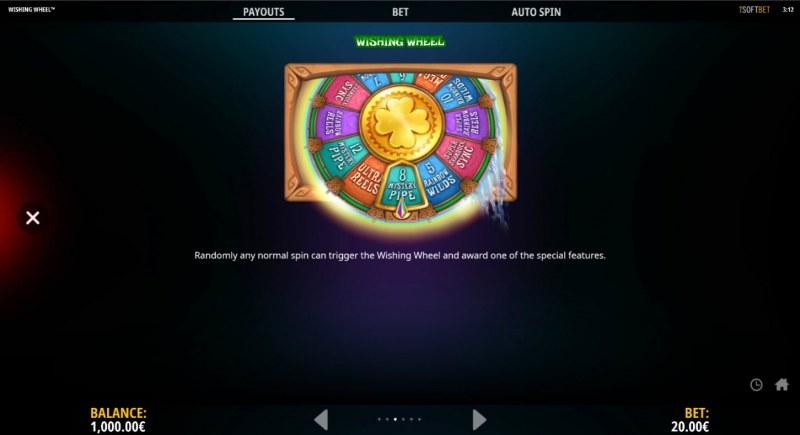 Wishing Wheel :: Bonus Feature